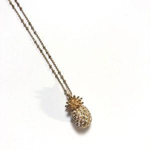 🍍 Banana Republic Pineapple Necklace